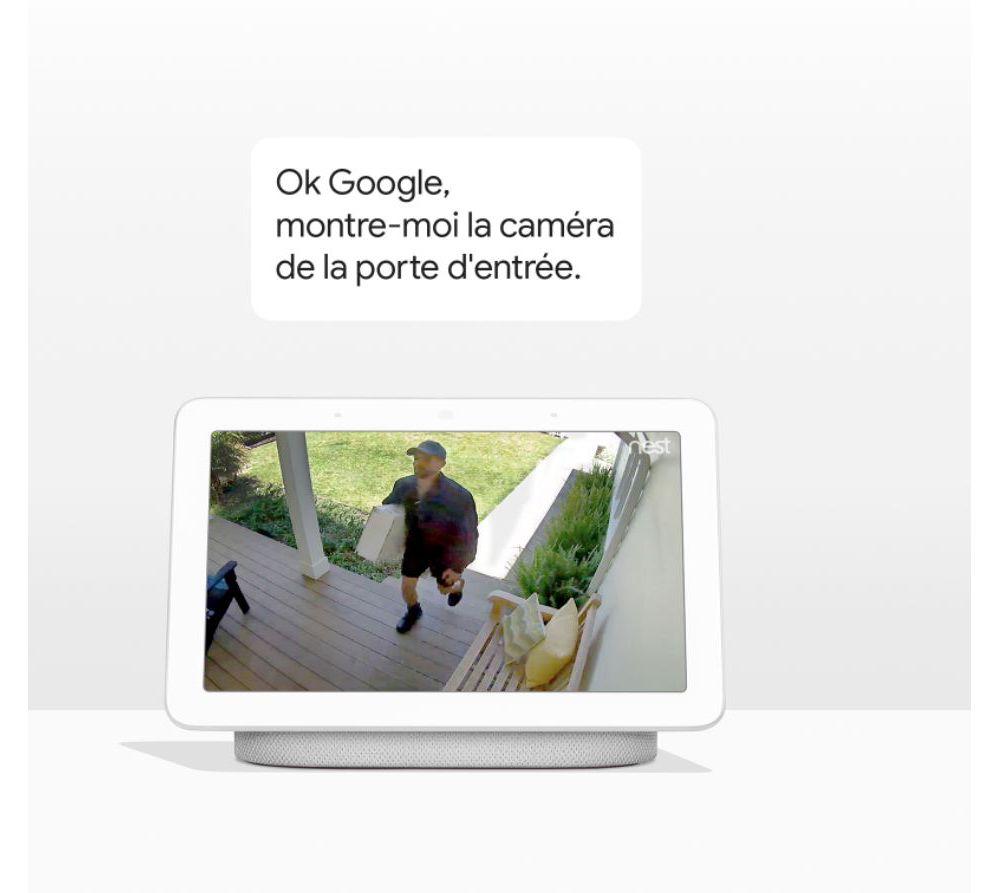 Maison connectée Google Hub