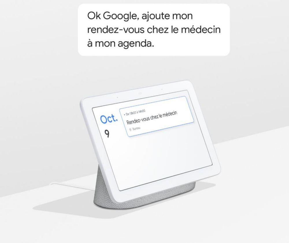 Google Hub et Google Assistant