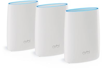 ROUTEUR NETGEAR ORBI PACK ROUTEUR+2 SATELLITE RBK50-100P