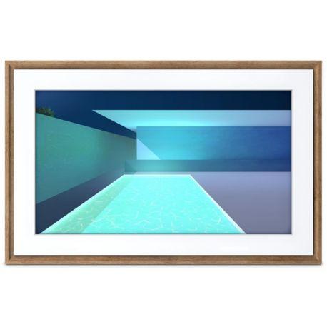 Tableauconnecté NETGEAR Meural Canvas 2 bois sombre 19x29 cm