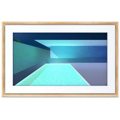 Tableauconnecté NETGEAR Meural Canvas 2 bois clair 19x29 cm