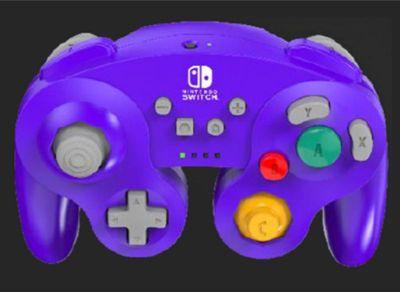 Housse Powera Manette Sans Fil Switch Gamecube Violet
