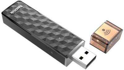 Clé Usb sandisk wireless stick 128gb