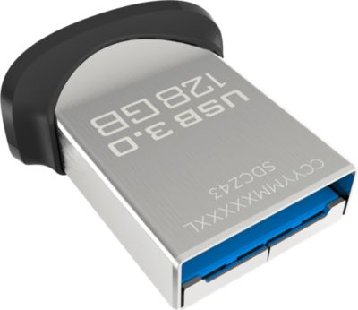 Clé Usb sandisk ultra fit flash drive 128 usb 3.0