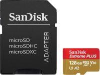 Carte SANDISK microSD EXT PLUS 128Go