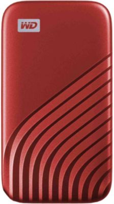 Disque SSD Western Digital My Passport 500 Go Red