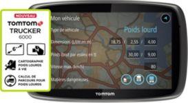 GPS TOMTOM Truck 6000 Cartographie à vie