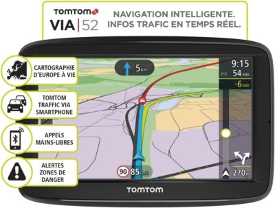 GPS Tomtom Via 52 Europe 48 pays