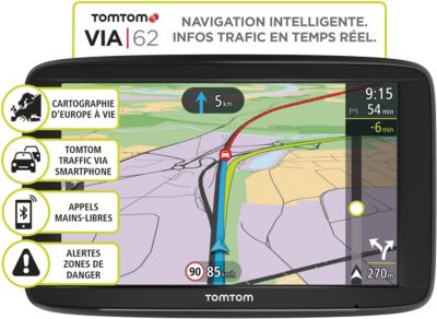 Gps Tomtom via 62 europe 48 pays