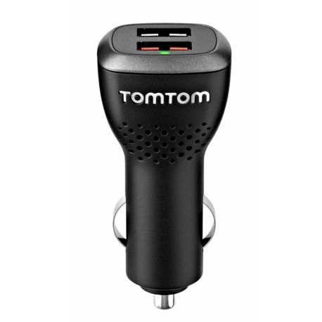 Chargeur voiture TOMTOM 2 USB - Haute vitesse 4.8 A
