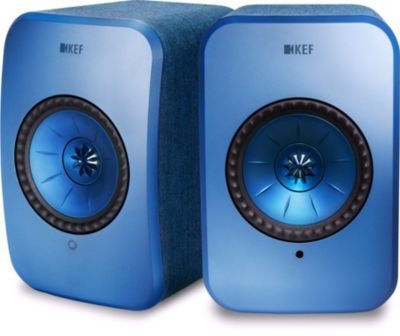 Enceinte sans fil KEF LSX Wireless bleue