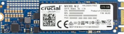 Disque SSD interne Crucial SSD 275Go MX300 M.2 Type 2280SS