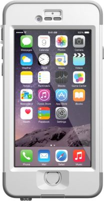 Coque Lifeproof Nuud iPhone 6 blanche V2