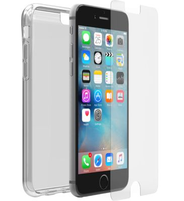 otterbox clear skin iphone 6 6s alpha glass accessoire. Black Bedroom Furniture Sets. Home Design Ideas