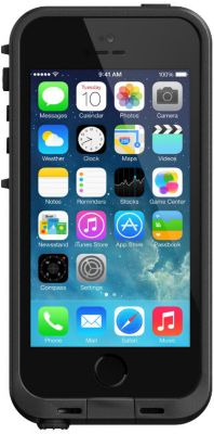Coque Lifeproof fre iphone 5s/se noir