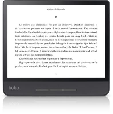 Liseuse eBook Kobo Forma 8¨ Noire - 8Go