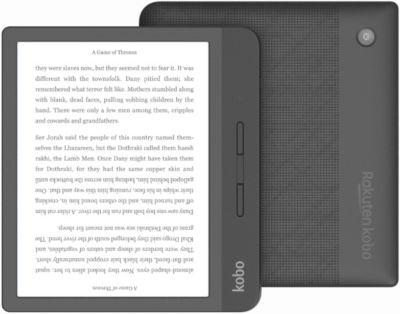Liseuse eBook Kobo Libra H2O 7¨ Noire - 8Go