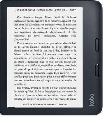 Liseuse eBook Kobo Libra 2 - Noire