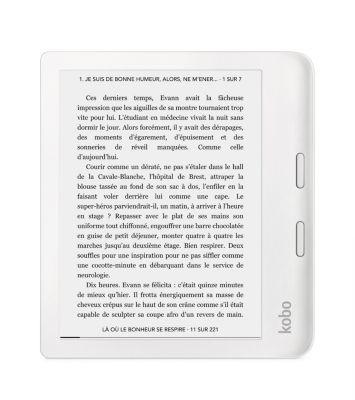 Liseuse eBook Kobo Libra 2 - Blanche