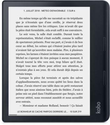 Liseuse eBook Kobo Sage - Noire