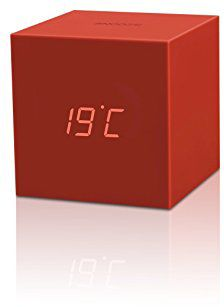 gingko gravity cube click clock rouge r veil radio. Black Bedroom Furniture Sets. Home Design Ideas