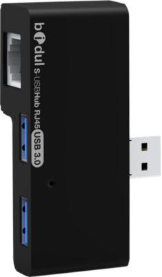 Adaptateur Usb c bidul 2 ports usb 3.0 + port rj45 lan