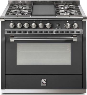 Cuisinière Mixte steel ascot a9s-4t