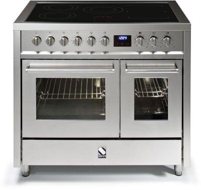 Piano de cuisson induction steel enfasi e10ff-6i