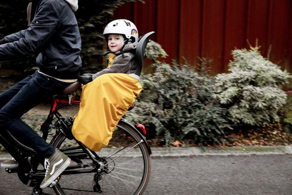 Couverture Protection enfant vélo Rainette