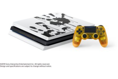 Console SONY PS4 Pro 1To Edition Death Stranding