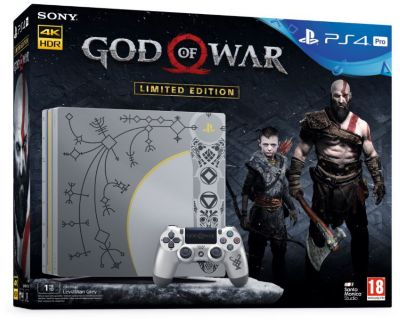 Console PS4 Sony Pro 1To Edition Spéciale + God Of War