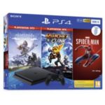 Console SONY PS4 500go Noire+Marvel's Sp