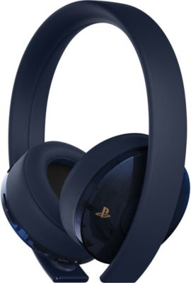 Casque Gamer sony casque sans fil ps4 gold / navy blue