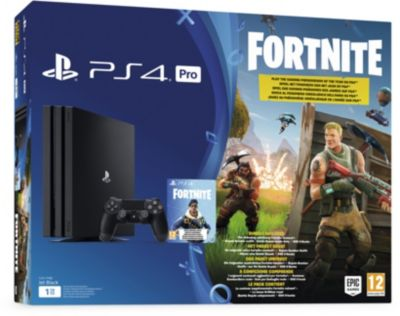 Console Ps4 sony pro 1to noire + fortnite