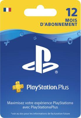 Accessoire Sony carte ps+ abonnement 1 an