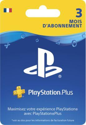 Accessoire Sony carte ps+ abonnement 90 jours