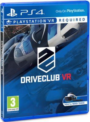 Jeu Ps4 sony drive club vr