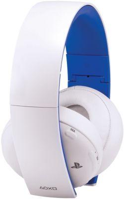 Casque gamer Sony Casque PS4 Stéréo sans fil 2.0 blanc