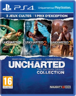 Jeu Ps4 sony uncharted : the nathan drake collection