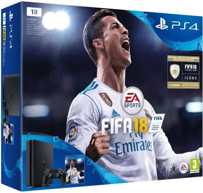 Console Ps4 sony slim 1to + fifa 18