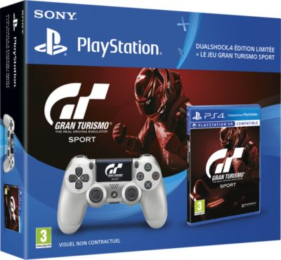 sony bipack gran turismo dualshock jeu accessoire ps4 boulanger. Black Bedroom Furniture Sets. Home Design Ideas