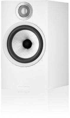 Enceinte bibliothèque Bowers And Wilkins 606 S2 White