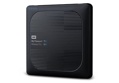 Disque WESTERN DIGITAL 1To My Passport Wireless Pro Black