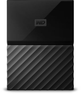 Disque dur externe Western Digital 2,5'' 2 To My Passport Noir