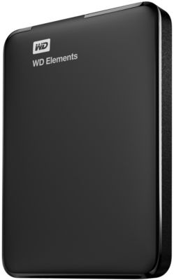 Disque dur externe Western Digital 2,5'' 1.5 To Elements
