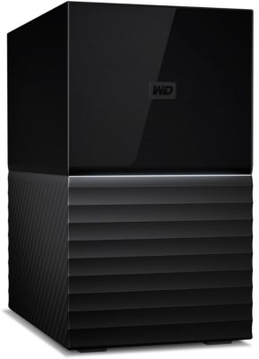 Disque Dur externe western digital my book duo 8to