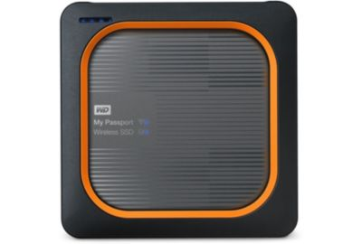 Disque WESTERN DIGITAL My Passport Wireless SSD 256GO