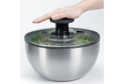 Essoreuse OXO à salade inox 26 cm