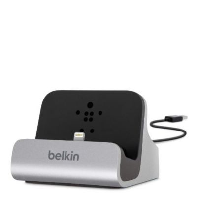 Chargeur secteur Belkin charge+syncro Lightning Gris