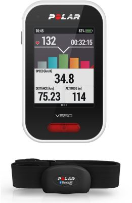 GPS de loisirs Polar V650 HR Compteur GPS